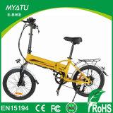 Faltendes elektrisches Fahrrad mit Motor des Spaß-8
