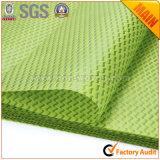 Numéro non-tissé 3 de papier d'emballage de tissu vert pomme