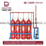 Systeem van Supression van de Brand van het Gas van het Systeem van de luchthaven het BrandblusIg541 Gemengde