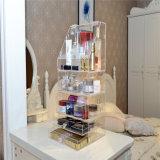 Organizador acrílico transparente de alta qualidade personalizado da composição de 5 séries com gaveta
