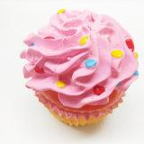 卸し売りケーキの形の乳液ピカピカの特定のペットおもちゃ