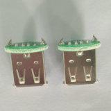 USB 2.0 a/F PCB 180 도 복각 백색