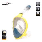 180 Graus panorâmicas Facial máscara de mergulho com snorkel Defina Ir PRO