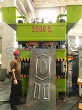 машина кожи двери 2500t используемая для двери выбивая для вырезывания и гнуть