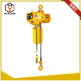 Таль с цепью 0.5 тонн электрическая с типом подвеса крюка (HHBB0.5-01SS)