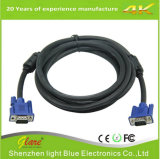 Câble coaxial de liaison du VGA de prix bas de qualité