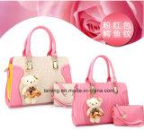 La Chine de gros morceaux de la mode 2PU Définir Mesdames Sacs Sac en cuir sac à main