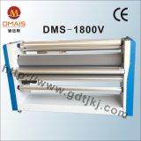 Laminador frío auto neumático de alta velocidad de la película de DMS-1800V Linerless con el cortador