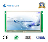 Haute définition, 7 pouces haute résolution de 1024*600 Uart Module TFT LCD+RS232