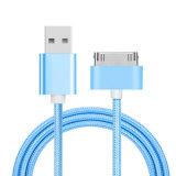 Förderung umsponnenes USB-Daten-Nylonkabel 2017 für iPhone 4