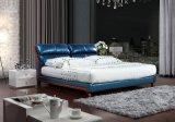 Кожаные кровати современные кровать (SBT-31)