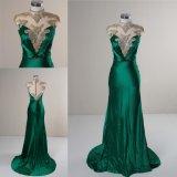 Novo livro verde Mermaid Senhoras Fashion Parte vestido vestido à noite