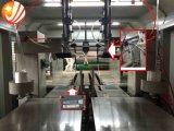Línea de productos automática de la máquina que sujeta con grapa y que lía