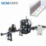 Punzonadora del fabricante de China con la marca y el pelar para los ángulos