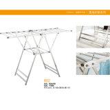 Стеллаж для просушки одежд хорошего качества алюминиевый складной (702)