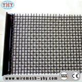 Плоская верхняя высокуглеродистой сплетенная сталью гофрированная сетка вибрируя экрана