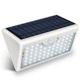 Newest 60 LED Lampe solaire cinq modes avec voyants lumineux jardin extérieur éclairage mural