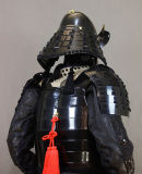 Японский костюм самураев искусствоа красного цвета Jotar09 панцыря пригодного для носки