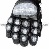 電気パルスおよびカーボンファイバーが付いている武装した警察の戦術的な手袋