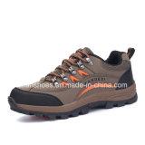 Los hombres de Hotsale que van de excursión la zapatilla de deporte calzan los zapatos del deporte atlético (FSY1129-14)