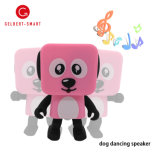 ذكيّة كلب الإنسان الآليّ إلكترونيّة لعب لون موسيقى لاسلكيّة مصغّرة رقص المتحدث