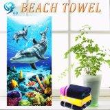 新しいデザイン一義的なデザインプリントビーチタオル