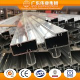 Perfil de alumínio/trilho do fabricante de Foshan para portas deslizantes