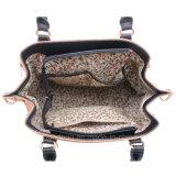 De Handtassen van het dekbed met Stiching Dame Handbag Contrast Color Handbag