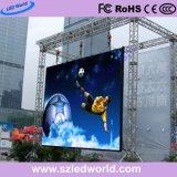 P4.8 extérieure RVB HD Ecran LED pour la conférence