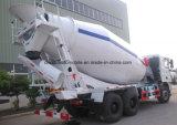Carro de salida del cemento de Cbm del carro 8 del mezclador concreto de C&C 6X4