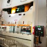 máquina da imprensa de potência 110t mecânica com corpo do frame de C e a manivela dobro