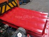 Легкий вес кровельного материала из стали с полимерным покрытием PPGI/PPGL листы на крыше