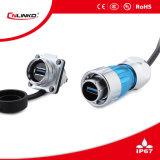 中国Cnlinkoの金属USB3.0コネクターの男性プラグCCCのセリウムは承認した