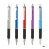 Le stock sur le commerce de gros de la promotion Logo personnalisé de plume Mutil stylo à bille de métal de couleur