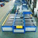 Conducto de aire HAVC Línea automática de fabricación para la fabricación de tubos cuadrados