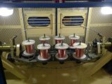 Hohe Produktivität 19 PCS-kupferner Draht, der Maschine 2000 U/Min PLC-Controller-Draht-Schiffbruch-Maschinen-Draht Buncher Strander verdreht Kabel-Ausglühen-Maschine bündelt