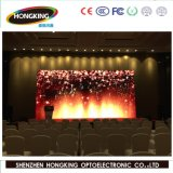 P6mm LED no interior do painel de exibição na tela de vídeo