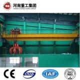 Fornitore ISO9001 della gru di viaggio ambientale con la benna della gru a benna