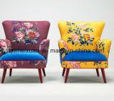 Stickerei-Tuch-Kunst-Sofa-Hotel-Schlafzimmer-kleines einzelnes Sofa (M-X3160)