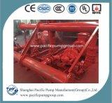 UL het vermelde 300gpm Pakket Met motor van de Diesel Pomp van de Brand