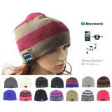 Altoparlante astuto senza fili Mic della cuffia avricolare della protezione di Bluetooth di musica del cappello caldo molle del Beanie nuovo