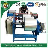 Manuel d'aluminium de haute qualité de coupe et de rembobinage de la machine