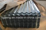 Toiture en métal recouvert de zinc en carton ondulé de feuilles de toit en acier galvanisé avec Certification SGS