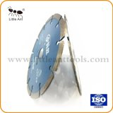 6 인치 150mm 다이아몬드 공구 다이아몬드는 화강암 대리석 단단하고 과민한 물자를 위해 톱날 절단을