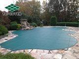 De naar maat gemaakte Bovengenoemde Dekking van de Veiligheid van het Zwembad van de Grond beschermt Uw Leden van de Familie