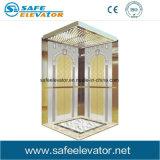 Gravure miroir classique ascenseur résidentiel levage passager