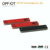 Бирка OEM металла UHF RFID полностью готовый отслеживая длиной прочитала расстояние RoHS OPP5213