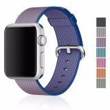 Sangle en nylon coloré Bracelet pour Apple Iwatch Smart Bande de remplacement