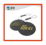 Cartón Negro Estampado en Caliente de oro Papel Swing etiquetas para prendas de vestir