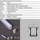 Z-2415 niedrige Zeile vertieftes LED-Aluminium-Profil